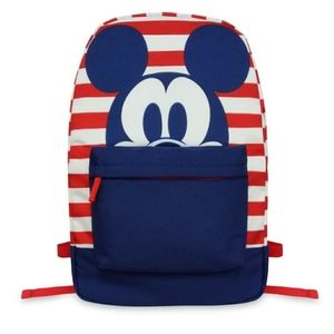 NWT Mickey Mouse Americana Backpack